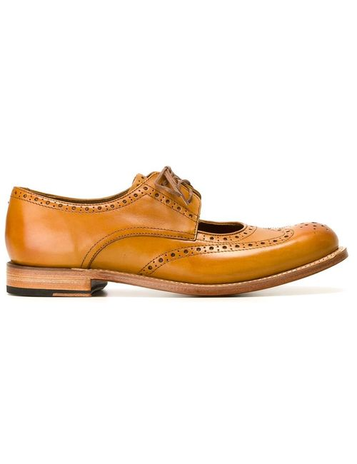 Grenson | Женское Nude & Neutrals Cut-Out Brogues