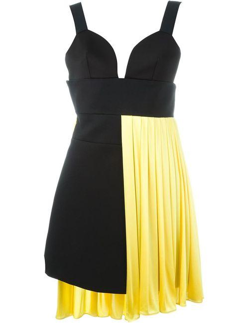 Fausto Puglisi | Женское Черный Asymmetric Short Dress