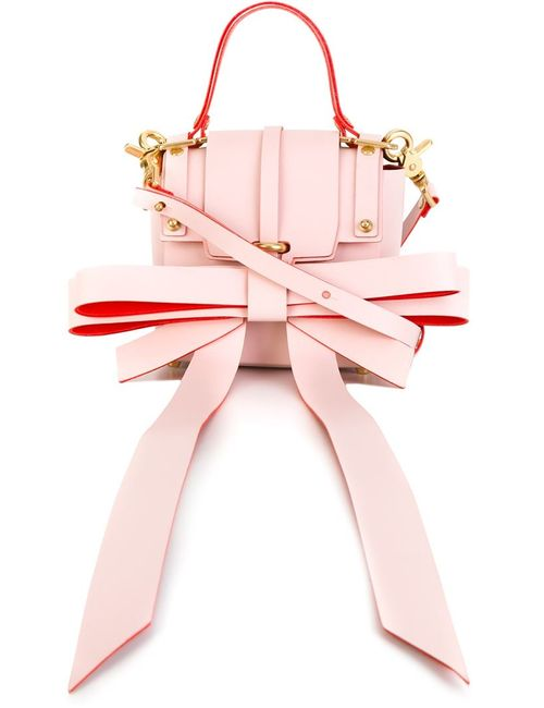 NIELS PEERAER | Женское Розовый Bow Detail Tote