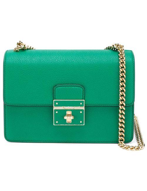 Dolce & Gabbana | Женская Зелёная Сумка Через Плечо Rosalia