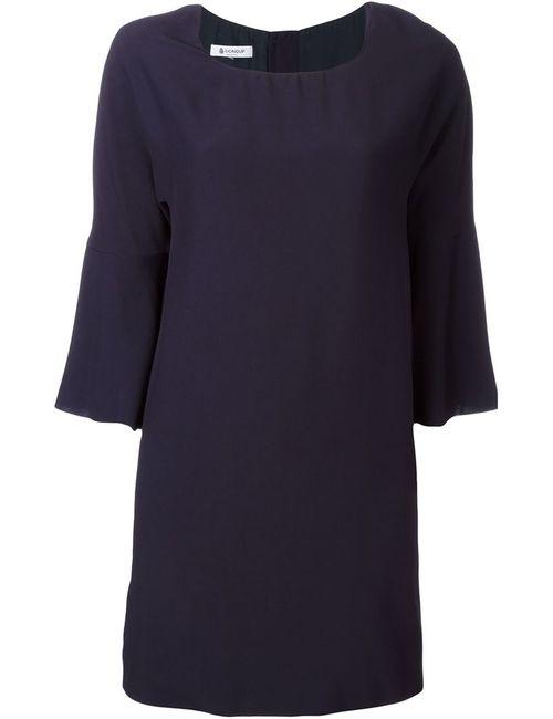 Dondup | Женское Синее Платье С Рукавами Три Четверти