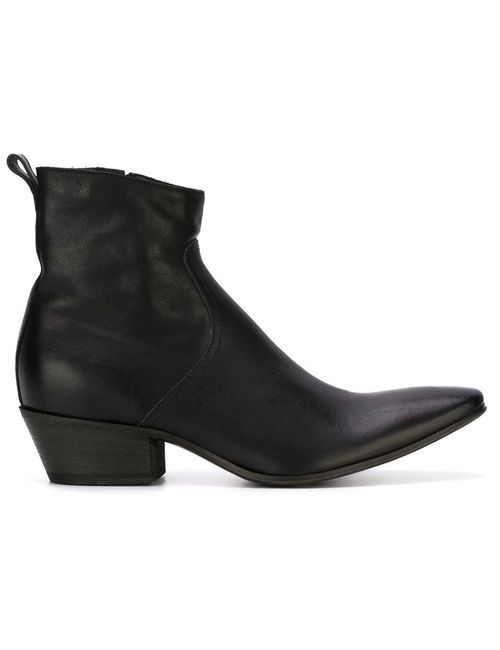 Haider Ackermann | Мужское Чёрный Texan Ankle Boots