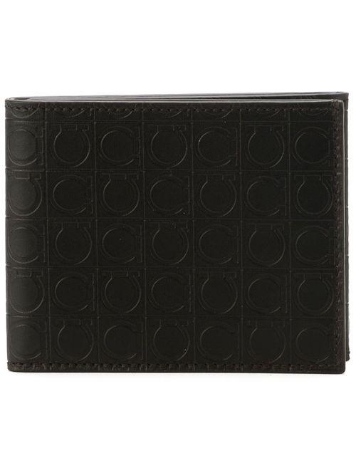 Salvatore Ferragamo | Мужское Коричневый Gancino Print Tri-Fold Wallet