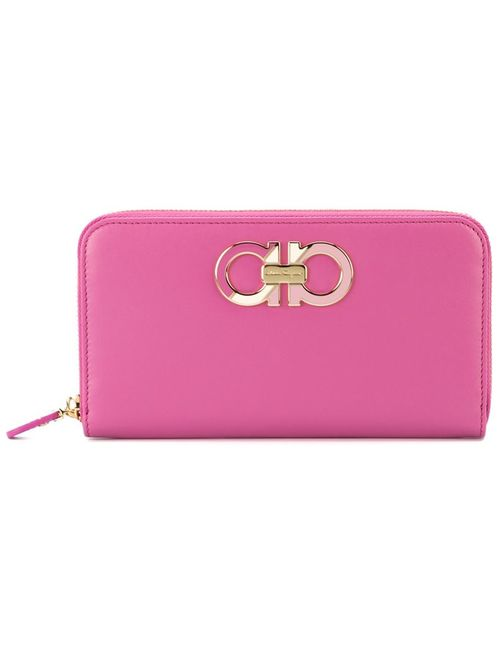 Salvatore Ferragamo | Женское Розовый Gancini Zip Around Wallet