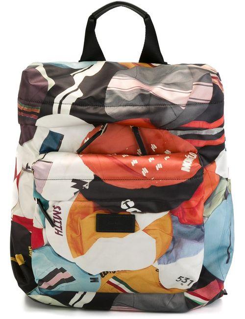 Paul Smith | Мужской Многоцветный Рюкзак С Геометрическим Узором