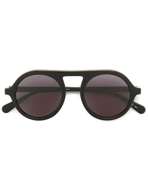Stella Mccartney | Женское Чёрный Round Sunglasses