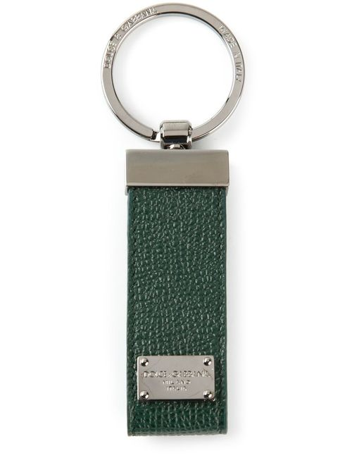 Dolce & Gabbana   Зелёный Брелок Для Ключей