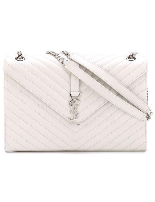 Saint Laurent | Женское Серый Large Monogram Shoulder Bag