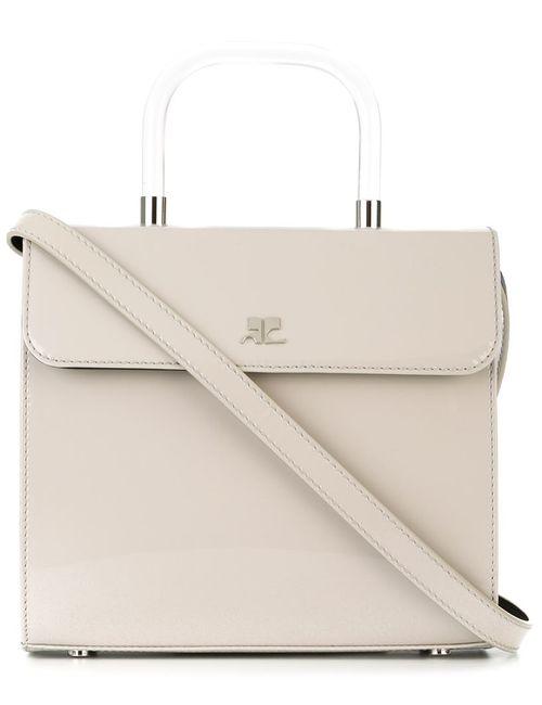 Courreges | Женское Nude & Neutrals Square Flap Crossbody Bag