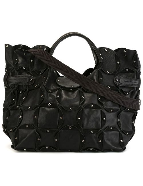 Jamin Puech   Женское Чёрный Large Rica Tote Bag