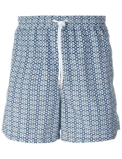Kiton | Мужское Серый Tile Print Swim Shorts