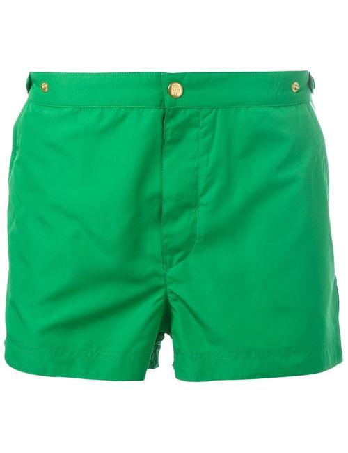 Eleventy | Мужские Зелёные Шорты Для Плавания
