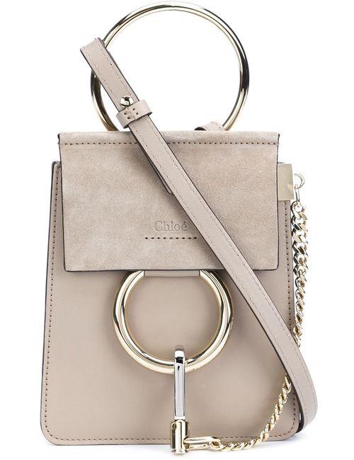 Chloe | Женское Серый Chloé Mini Crossbody Bag