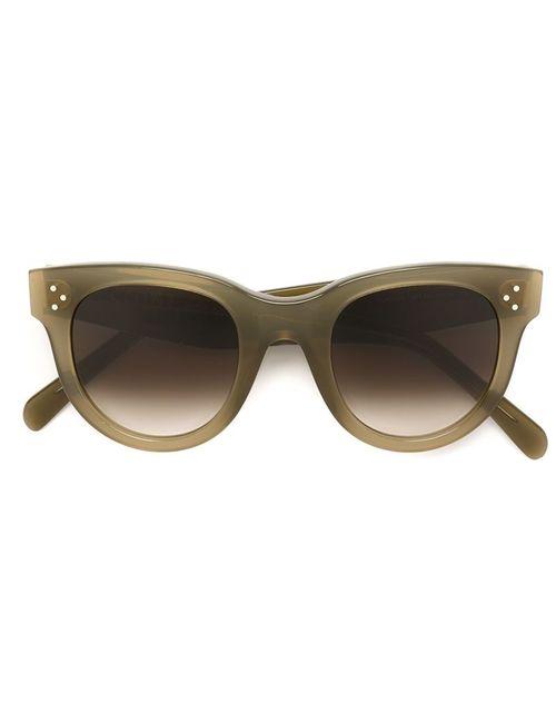 Céline | Женское Зелёный Faded Lens Sunglasses