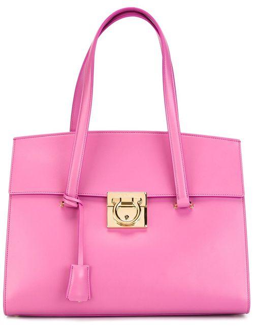 Salvatore Ferragamo | Женское Розовый Mara Tote