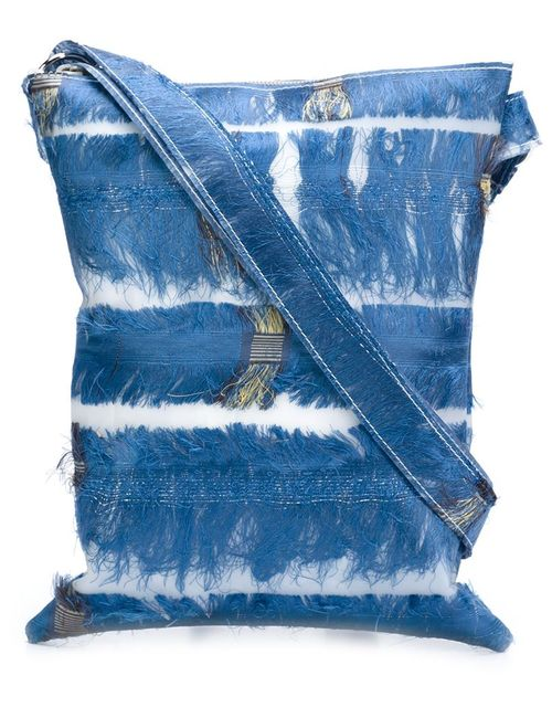 LUISA CEVESE RIEDIZIONI | Женское Синий Silk Fringe Crossbody Bag
