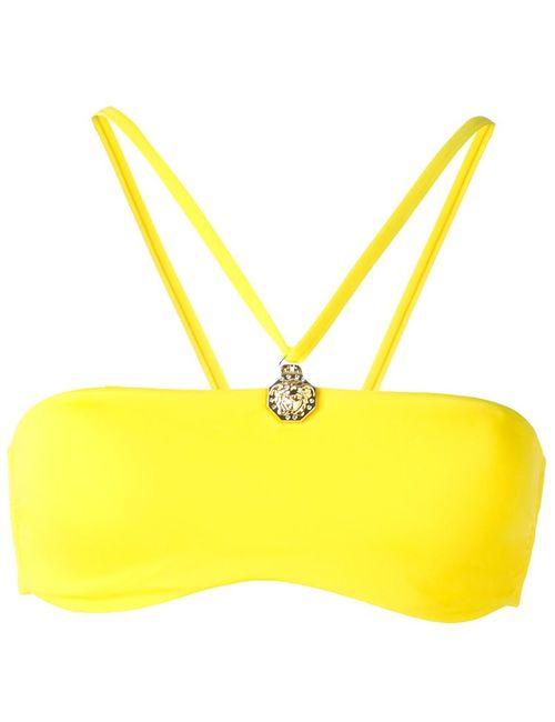 Versace | Женский Жёлтый Топ Бикини