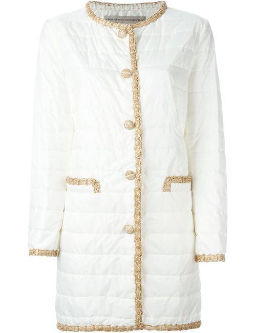 Ermanno Scervino | Женское Белое Стеганое Пальто