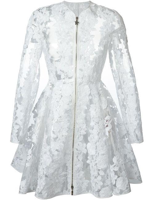Moncler Gamme Rouge | Женское Белое Кружевное Пальто