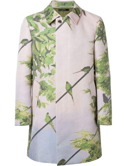 Issey Miyake | Мужское Розовый Bird Print Coat