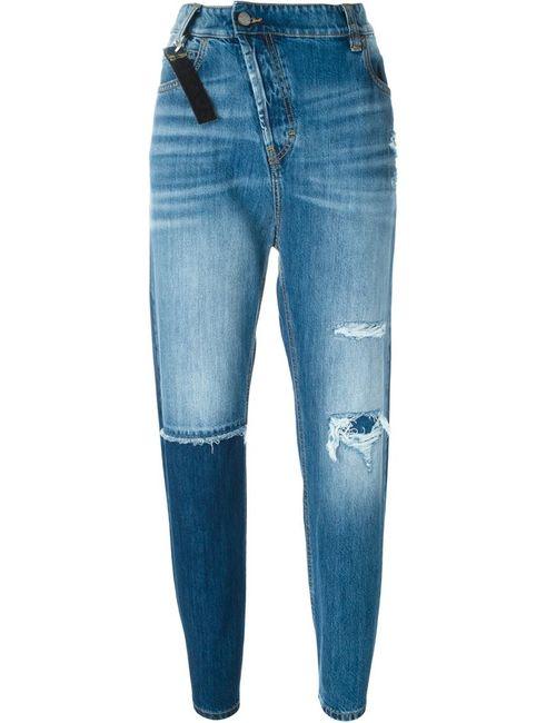 Vivienne Westwood Anglomania   Женские Синие Джинсы На Молнии