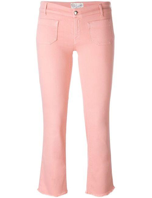 THE SEAFARER   Женское Розовый Raw Hem Cropped Jeans