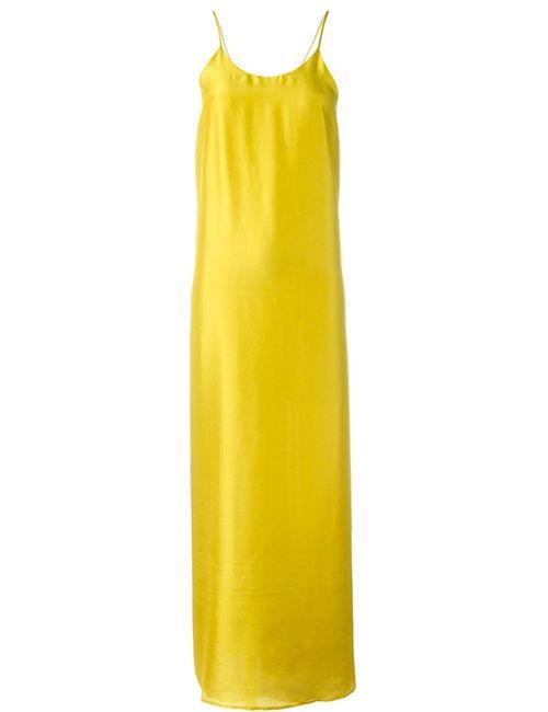 Erika Cavallini | Женское Жёлтое Платье Todisha