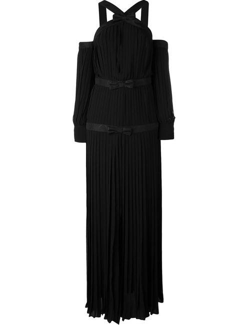 Alessandra Rich | Женское Чёрное Вечернее Платье