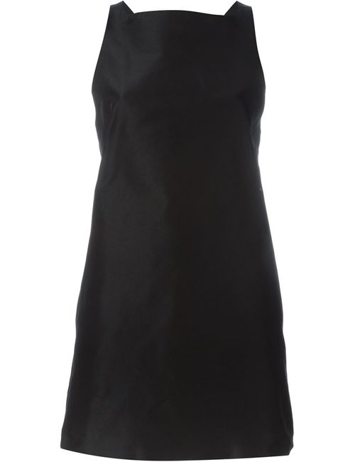 Rochas   Женское Чёрное Платье Без Рукавов