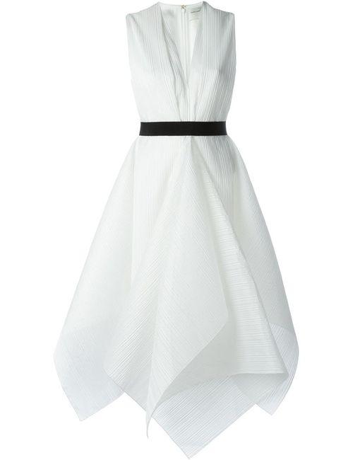 Maison Rabih Kayrouz | Женское Белое Платье С Трапециевидным Подолом