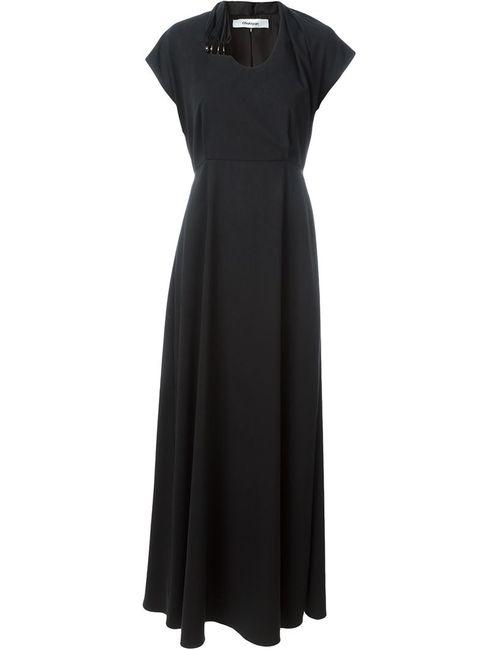 Chalayan | Женское Чёрный Gathered Waist Maxi Dress