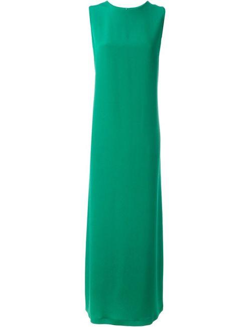 Gianluca Capannolo | Женское Зелёное Платье Без Рукавов