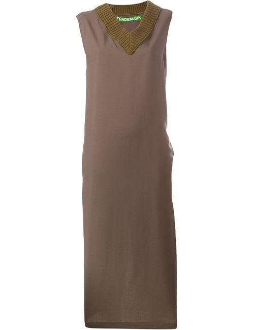 Golden Goose | Женское Коричневое Платье Sadie