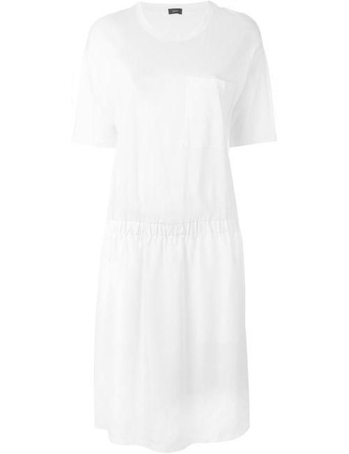 Joseph   Женское Белое Платье На Резинке