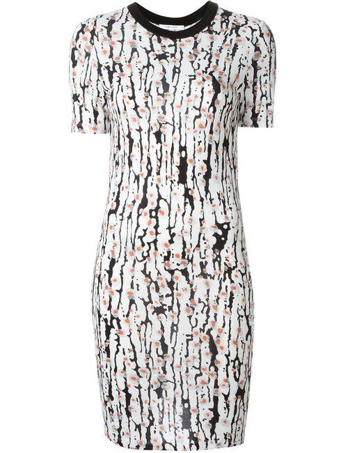 Carven   Женское Белое Платье Clara