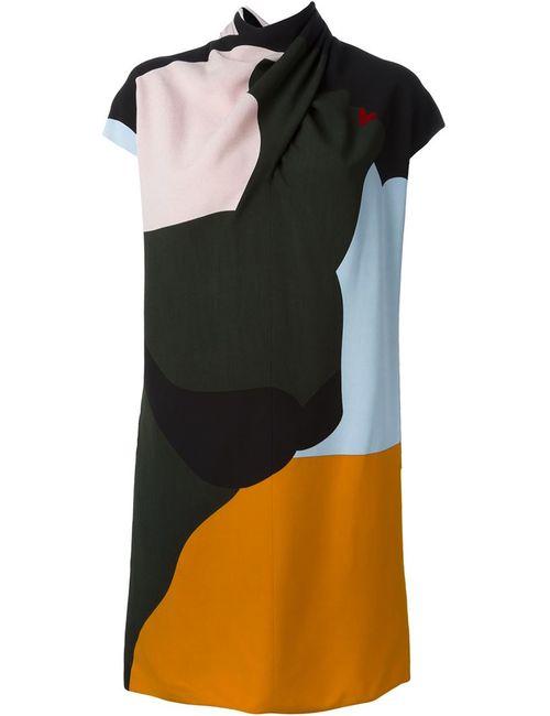 Nina Ricci | Женское Многоцветное Платье С Запахом