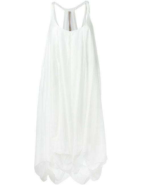 Poème Bohèmien | Женское Белый Draped Dress