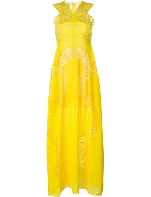 Stella Mccartney | Женское Жёлтое Платье Valerie