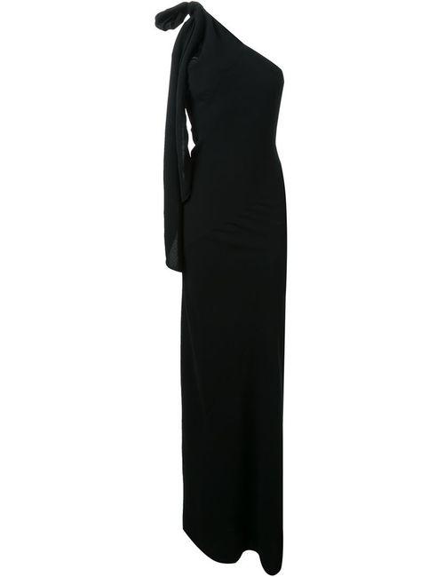 Gareth Pugh | Женское Черный Длинное Платье Bias