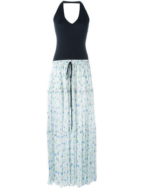 Chloe | Женское Синее Платье С Плиссированной Юбкой