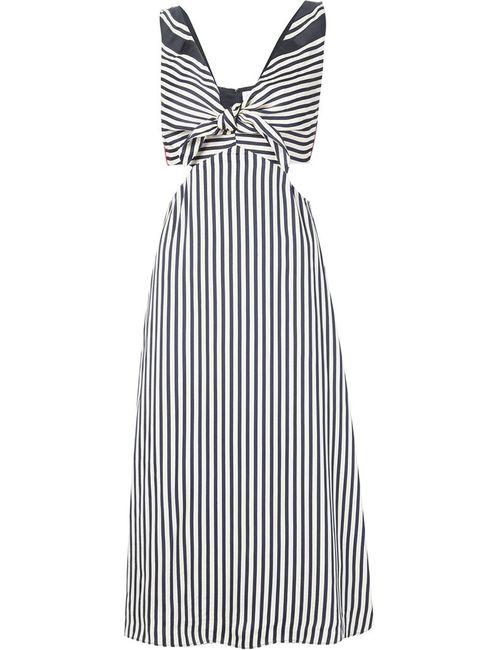 Misha Nonoo | Женское Черный Полосатое Платье Lexa