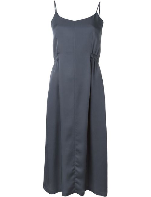Theory | Женское Серый V-Neck Dress