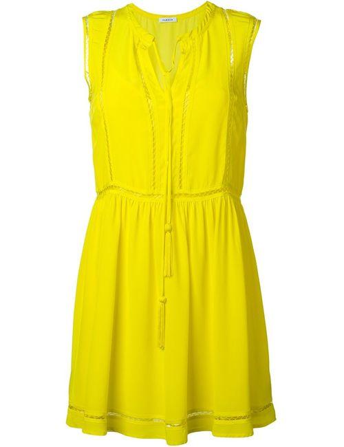 P.A.R.O.S.H. | Женское Жёлтое Платье Мини