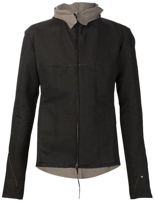 MA+ | Мужское Серый Zip Hood Jacket