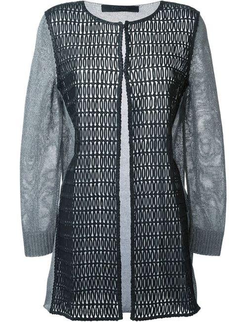 Drome | Женское Чёрный Perforated Long Jacket