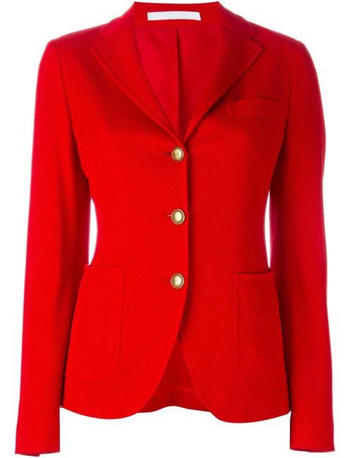 Tagliatore | Женский Красный Приталенный Пиджак