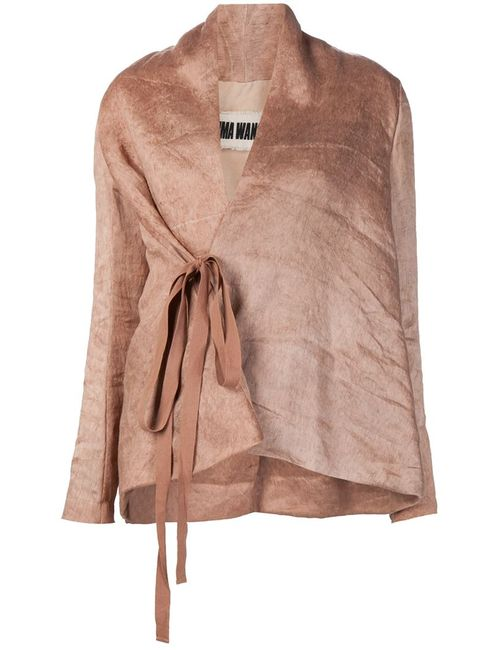 UMA WANG | Женское Nude & Neutrals Wrap Jacket