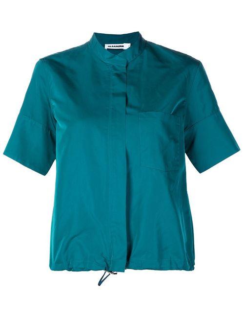 Jil Sander | Женское Зелёный Drawstring Jacket