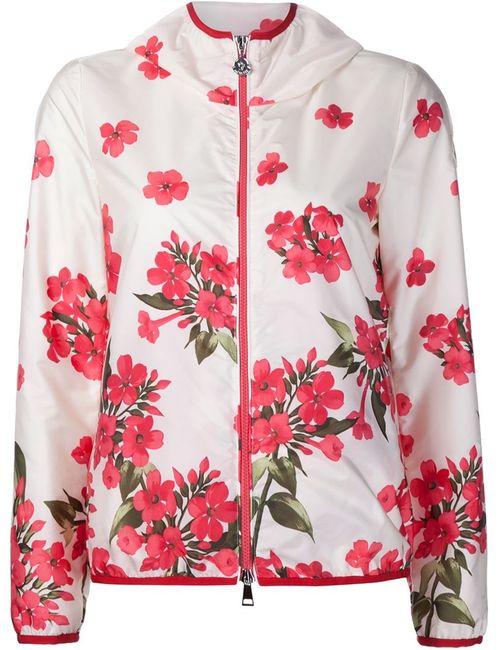 Moncler   Женское Белый Vive Print Jacket