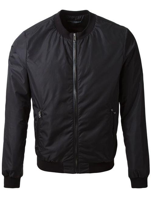 Dolce & Gabbana   Мужское Чёрный Classic Bomber Jacket